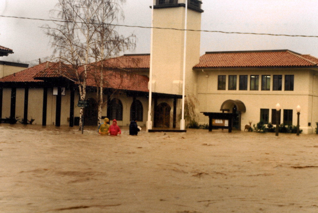 Flooded Town Hall