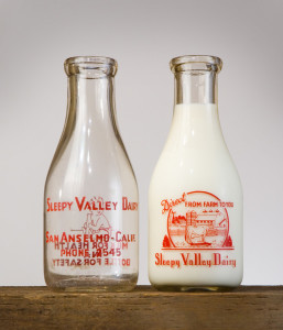 Sleepy Valley Dairy Bottles