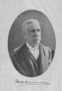 Judge William Morrow